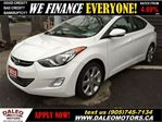 2012 Hyundai Elantra Limited NAVIGATION 98KM LEATHER in Hamilton, Ontario