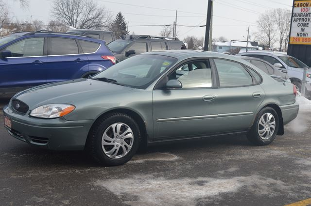 2005 ford taurus sel green car on auto sales. Black Bedroom Furniture Sets. Home Design Ideas
