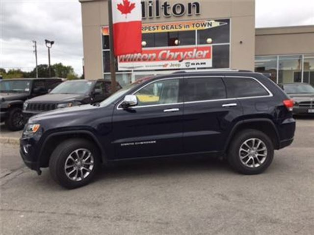 2015 Jeep Grand Cherokee Limited 8.4navigation Leather in Milton, Ontario