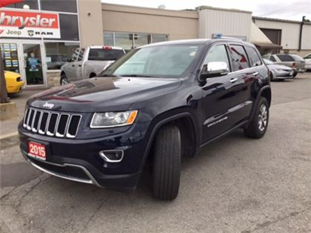 2015 jeep grand cherokee limited leather milton ontario used car for sale 2406345. Black Bedroom Furniture Sets. Home Design Ideas