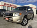 2008 Toyota RAV4 limited - LEATHER / DUAL CLIMATE CONTROL / SUNROOF in Toronto, Ontario