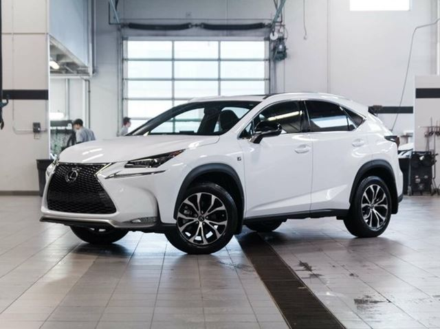 2016 lexus nx 200t demo f sport series 1 white lexus of kelowna. Black Bedroom Furniture Sets. Home Design Ideas