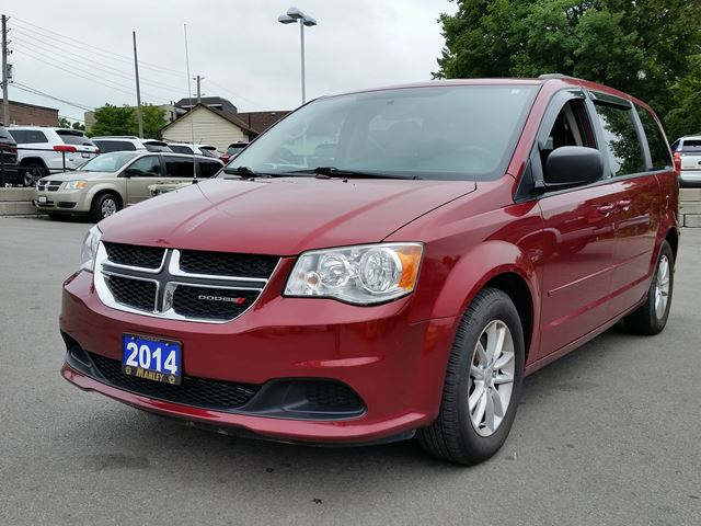 2014 dodge grand caravan sxt red manley motors limited. Black Bedroom Furniture Sets. Home Design Ideas