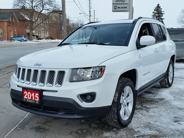 2015 jeep compass high altitude white manley motors limited. Black Bedroom Furniture Sets. Home Design Ideas