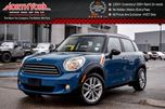 2012 MINI Cooper Countryman PanoSunroof Leather PaddleShifters HTD Frnt Seats Fog Lights 16 Alloys in Thornhill, Ontario
