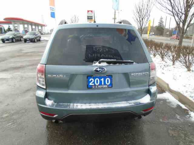 2010 subaru forester whitby ontario car for sale 2406989. Black Bedroom Furniture Sets. Home Design Ideas