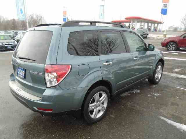 2009 subaru forester limited whitby ontario car for. Black Bedroom Furniture Sets. Home Design Ideas