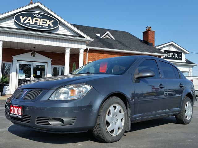2009 pontiac g5 se dark grey mike yarek dodge chrysler. Black Bedroom Furniture Sets. Home Design Ideas