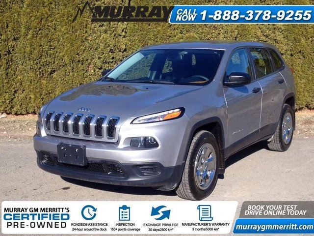 2015 JEEP CHEROKEE Sport in Merritt, British Columbia