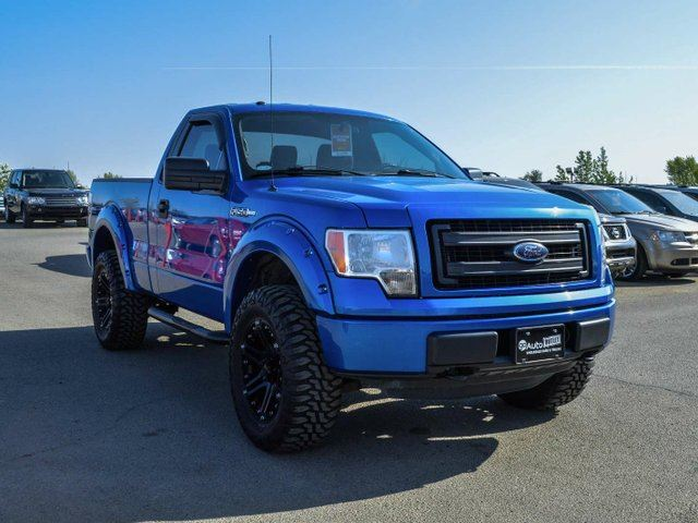 2013 Ford F 150 Stx 4x4 Regular Cab 6 5 Ft Box 126 In Wb