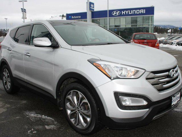 2016 hyundai santa fe 2 0t limited 4dr all wheel drive silver kelowna hyundai. Black Bedroom Furniture Sets. Home Design Ideas