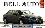 2012 Audi A4 2.0T PREMIUM PKG LOW KILOMETRES!! SUNROOF/ LEATHER in Toronto, Ontario