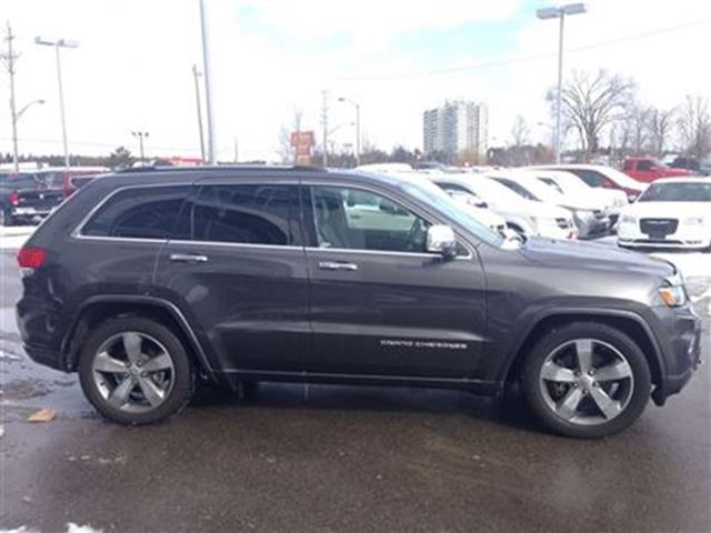 2014 jeep grand cherokee overland georgetown ontario used car for. Cars Review. Best American Auto & Cars Review