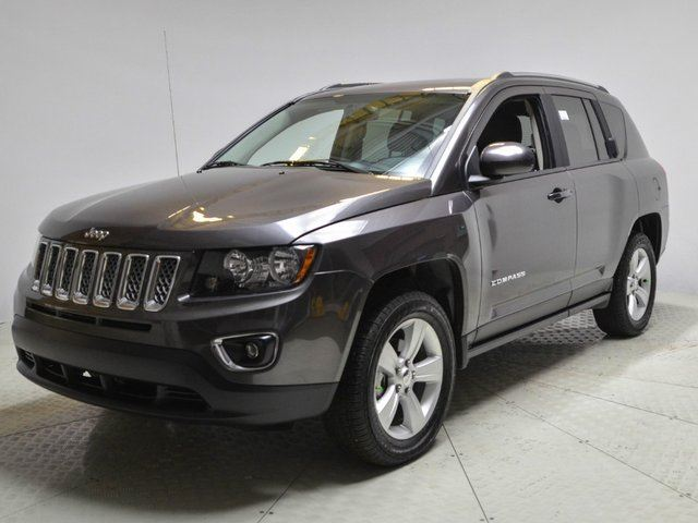 2015 jeep compass accident free albertan grey go honda. Black Bedroom Furniture Sets. Home Design Ideas