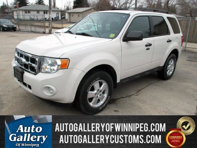 2010 ford escape xlt low kms price white auto gallery of winnipeg. Black Bedroom Furniture Sets. Home Design Ideas