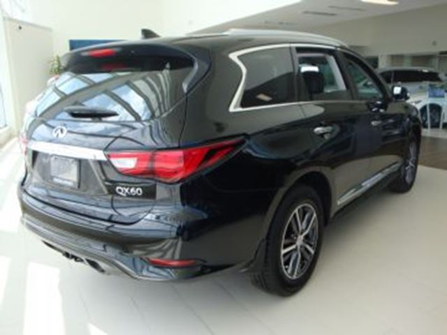 2017 infiniti qx60 awd premium package w navigation mississauga ontario used car for sale. Black Bedroom Furniture Sets. Home Design Ideas
