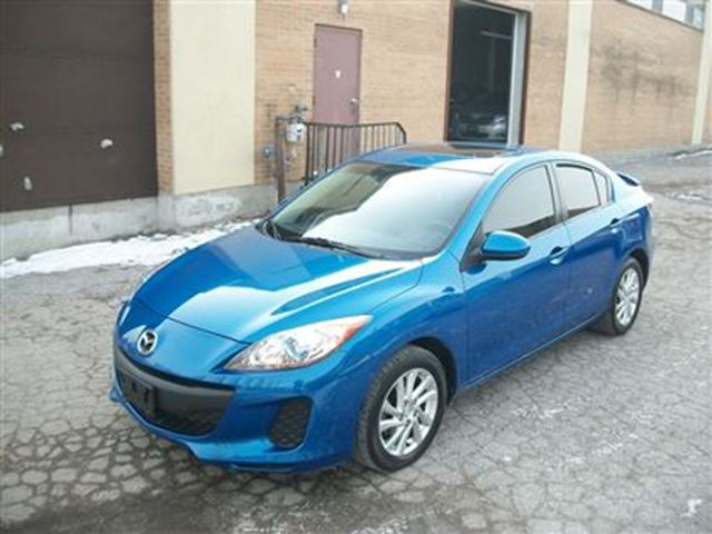 2012 mazda mazda3 gs sky low mileage heated seats extra clean blue k and l auto sales. Black Bedroom Furniture Sets. Home Design Ideas