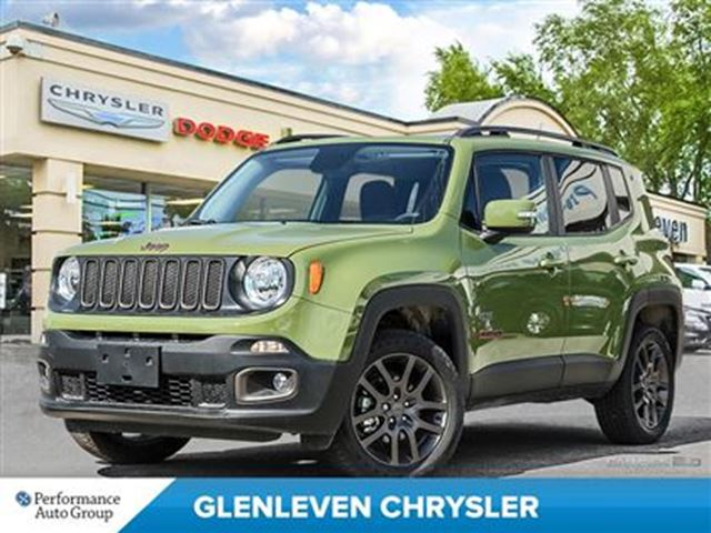 2016 jeep renegade 75th anniversary 4x4 sunroof. Black Bedroom Furniture Sets. Home Design Ideas