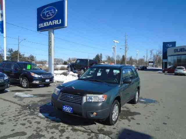 2007 SUBARU FORESTER 2.5 X in Whitby, Ontario