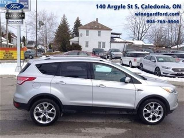 2015 ford escape titanium caledonia ontario used car for sale 2412342. Black Bedroom Furniture Sets. Home Design Ideas