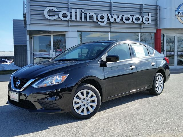 2016 nissan sentra s w a c pkg new black collingwood. Black Bedroom Furniture Sets. Home Design Ideas