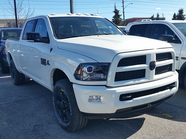 2016 ram 2500 laramie 4x4 cummins turbo diesel white vaughan chrysler dodge jeep new car. Black Bedroom Furniture Sets. Home Design Ideas