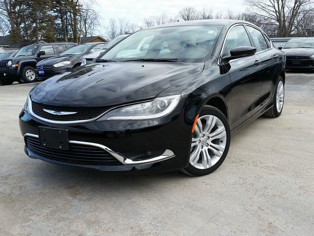 2015 Chrysler 200 Limited Black Lakeridge Chrysler Dodge