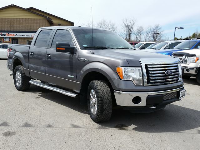 2012 ford f 150 xlt crew 4x4 xtr ecoboost ottawa ontario used car for sale 2409955. Black Bedroom Furniture Sets. Home Design Ideas