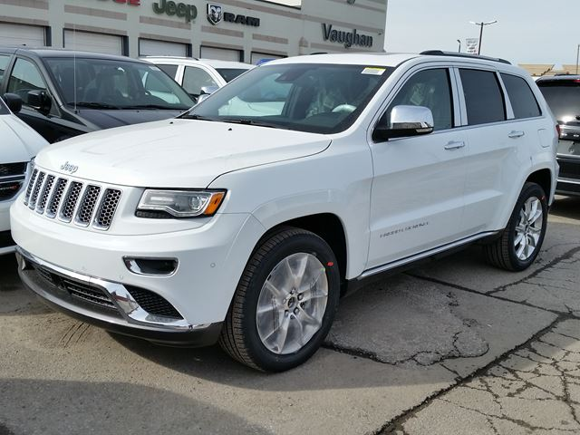 2016 jeep grand cherokee summit 4x4 vaughan ontario car for sale 2411135. Black Bedroom Furniture Sets. Home Design Ideas