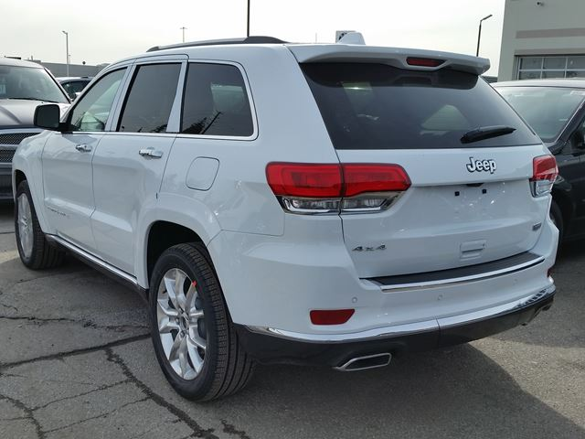 2016 jeep grand cherokee summit 4x4 white for 69790 in vaughan. Black Bedroom Furniture Sets. Home Design Ideas