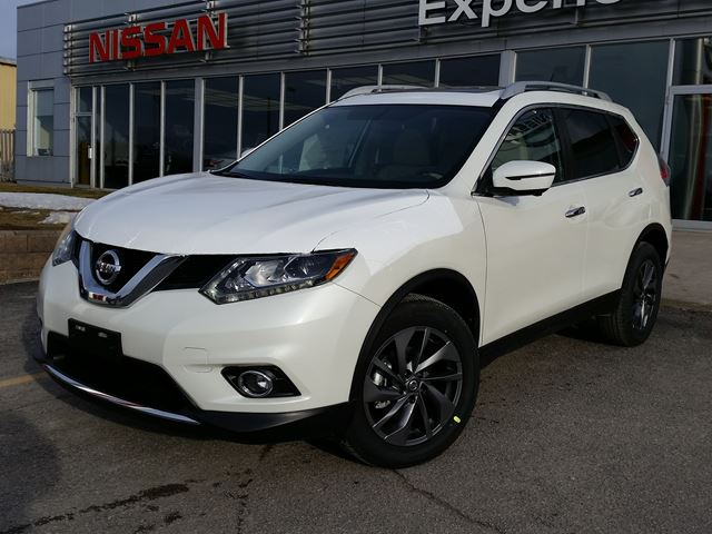 2016 Nissan Rogue Sl With Third Row Seating 2017 2018