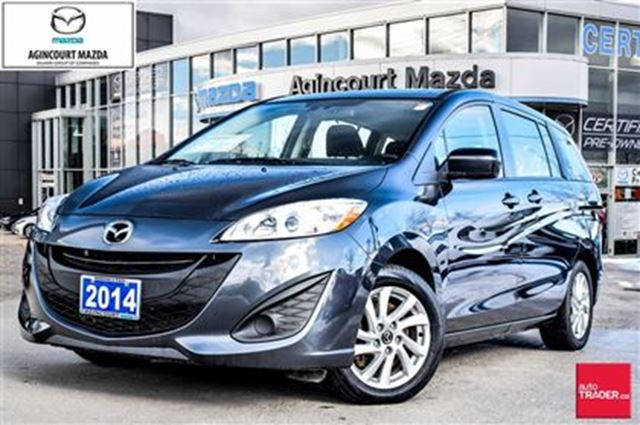 2014 mazda mazda5 gs grey agincourt mazda. Black Bedroom Furniture Sets. Home Design Ideas