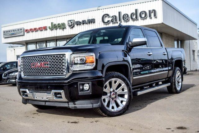 2015 gmc sierra 1500 denali 4x4 navi sunroof backup cam bluetooth r. Black Bedroom Furniture Sets. Home Design Ideas