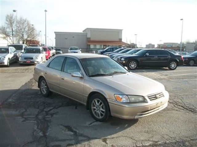 2000 toyota camry xle v6 run 39 s good as is beige k and l auto sales. Black Bedroom Furniture Sets. Home Design Ideas
