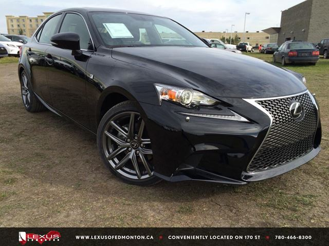 2015 lexus is 250 black obsidian lexus of edmonton. Black Bedroom Furniture Sets. Home Design Ideas