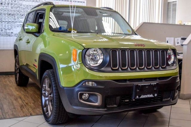 2016 jeep renegade 75th anniversary new 4x4 my sky open roof backup cam beats audio sat radio. Black Bedroom Furniture Sets. Home Design Ideas