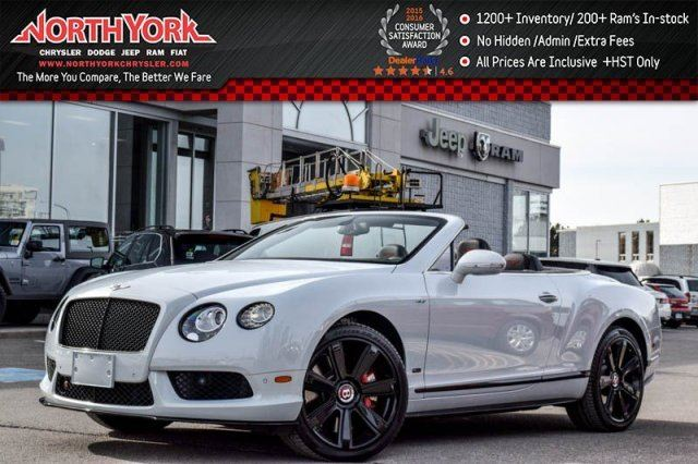2015 BENTLEY CONTINENTAL GT AWD Concours Series Black Pkg. Diamond Quilted Leather Air Suspension 21Black Alloys in Thornhill, Ontario