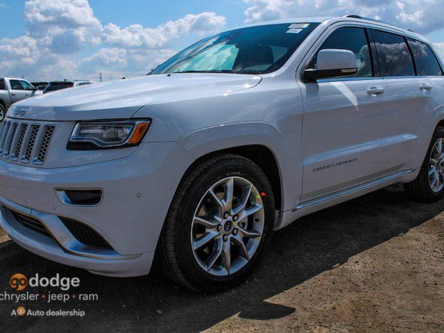 2015 jeep grand cherokee summit 4x4 white southtown chrysler. Black Bedroom Furniture Sets. Home Design Ideas