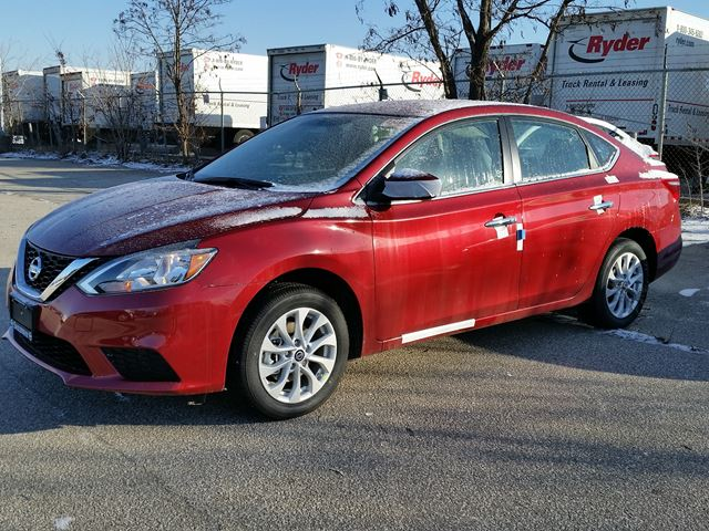 2016 Nissan Sentra Sv Red Sherway Nissan New Car Wheels Ca