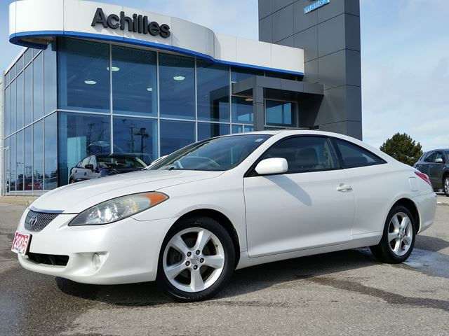 2005 toyota camry solara sle v6 leather loaded pearl. Black Bedroom Furniture Sets. Home Design Ideas