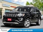 2016 Ford Explorer XLT, Leather, Sunroof, Remote Start, Carproof Clea in Oakville, Ontario