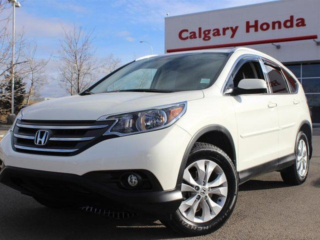 2014 honda cr v ex l awd white calgary honda. Black Bedroom Furniture Sets. Home Design Ideas