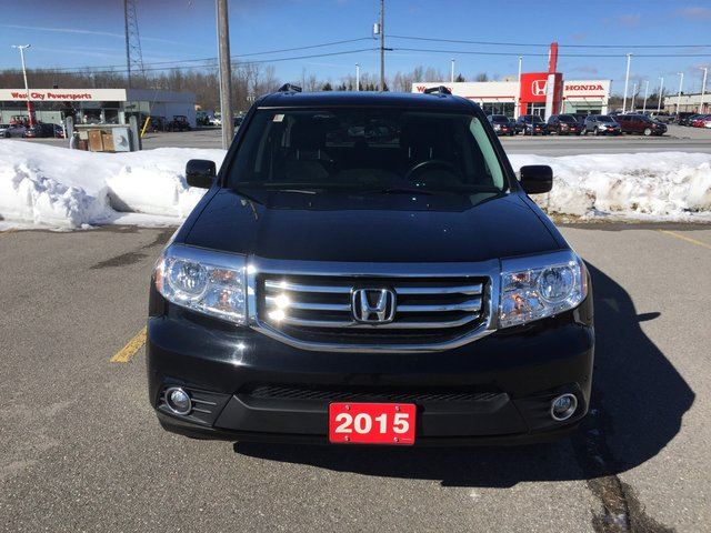 2015 honda pilot touring 4dr 4x4 demo low km step bars. Black Bedroom Furniture Sets. Home Design Ideas