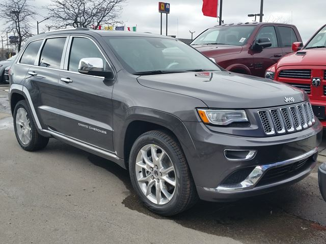 2016 jeep grand cherokee summit 4x4 vaughan ontario car for sale 2416632. Black Bedroom Furniture Sets. Home Design Ideas
