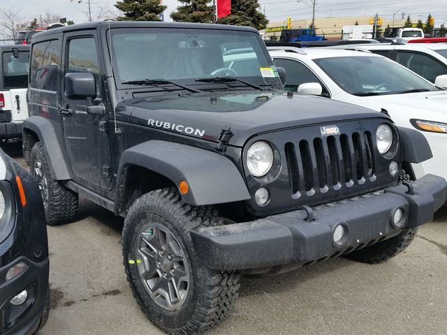 2016 jeep wrangler rubicon 4x4 black for 48775 in vaughan. Black Bedroom Furniture Sets. Home Design Ideas