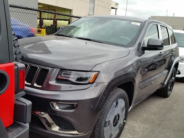 2016 jeep grand cherokee overland 4x4 vaughan ontario car for sale 2416892. Black Bedroom Furniture Sets. Home Design Ideas