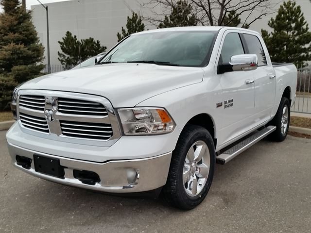 2016 ram 1500 big horn 4x4 white vaughan chrysler dodge jeep new car. Black Bedroom Furniture Sets. Home Design Ideas