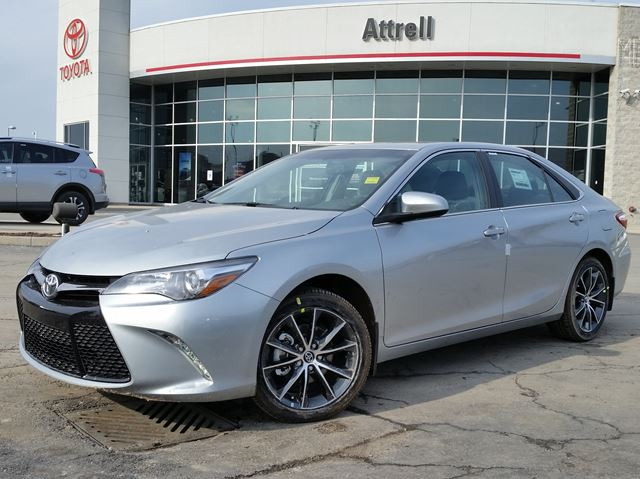 2016 toyota camry se silver attrell toyota new wheels ca