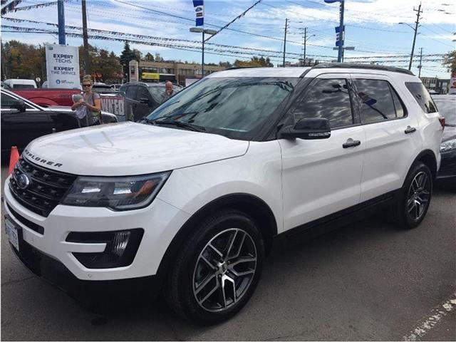 2016 ford explorer sport north bay ontario used car for sale 2417606. Black Bedroom Furniture Sets. Home Design Ideas