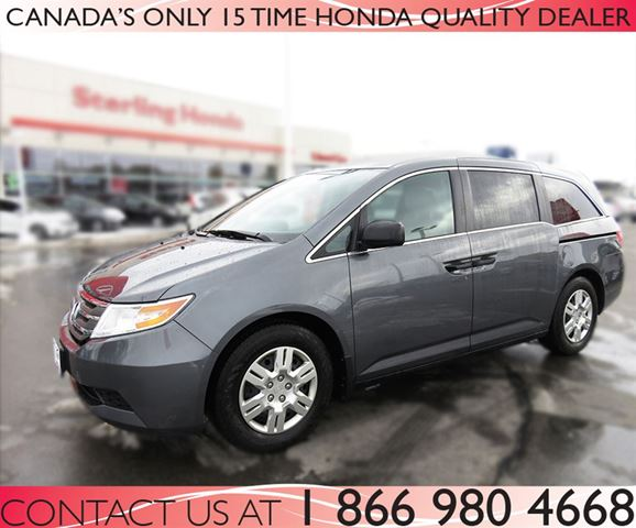2013 honda odyssey lx automatic certified hamilton ontario used car for sale 2419523. Black Bedroom Furniture Sets. Home Design Ideas